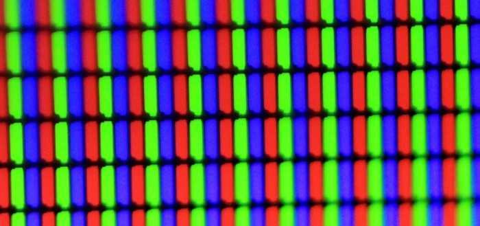 Какими бывают матрицы экрана?